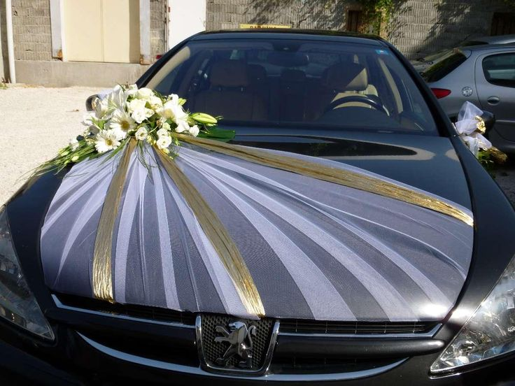 Wedding decoration for the car