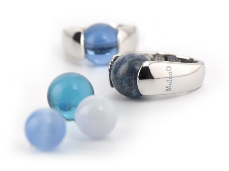 Cateye anillo, plata 10mm | SVR3602 | con cateyebolletje