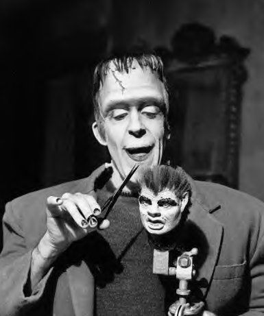 Herman, The Barber from the Munsters OldSchoolTees.com has your favorite TV show tee shirts!