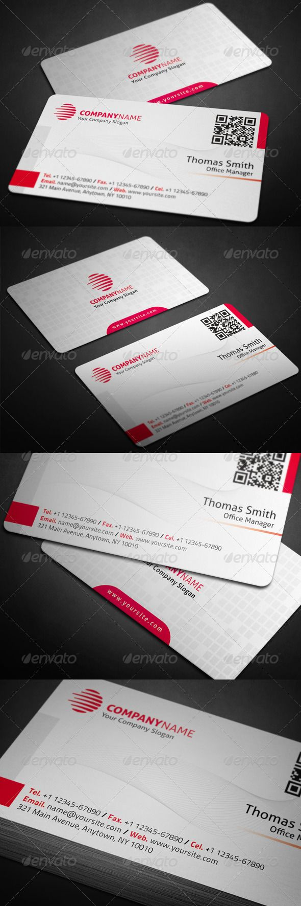 The 36 best work business cards images on pinterest business corporate business card reheart Images