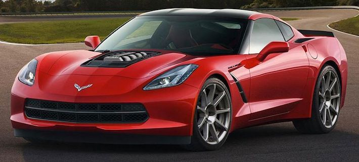 Supercharged Callaway Corvette C7 Stingray SC610