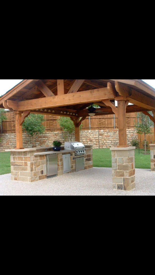 Outdoor Kitchen Idea, my retirement home in Mexico will have this ;)