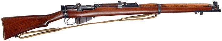 Lee-Enfield No.1 Mk.III* - .303 British. This was the main battle rifle of British and Commonwealth forces during the First World War, introduced in 1907 it has seen action throughout the 20th century.