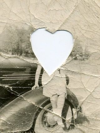 She lived in someone's locket. #vintage