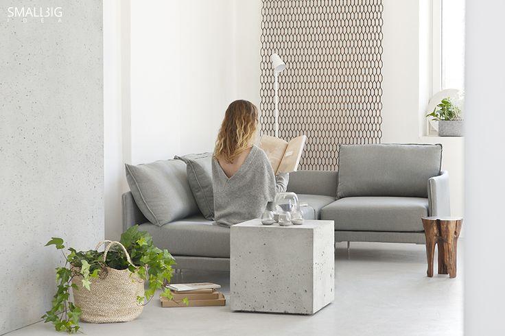 © smallbigidea.com concrete and wood.