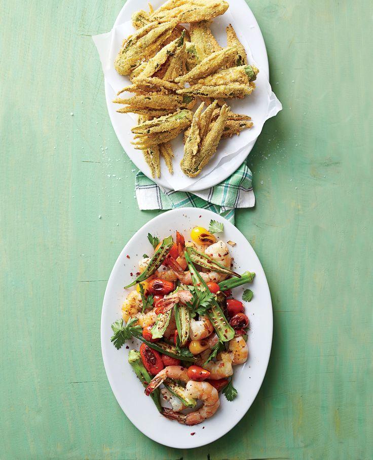 How To Make Smashed Fried Okra