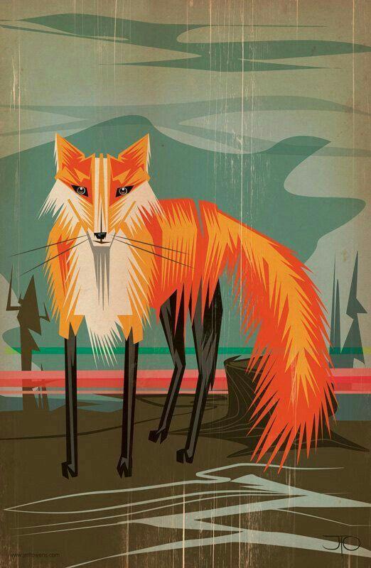 Image result for fox cartoon wallpaper