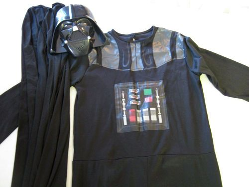Star Wars Darth Vader Costume Child L Large 12-14