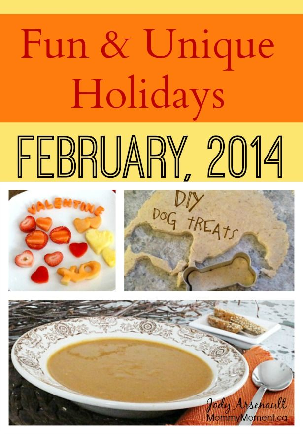 Fun and unique holidays in February