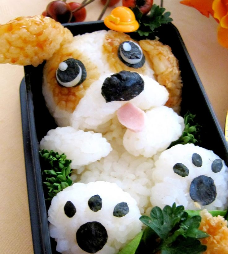 Puppy! 10 ridiculously cute ways to make sushi