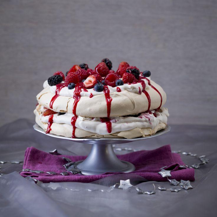 Berry pavlova stack | Thermomix Festive Flavour