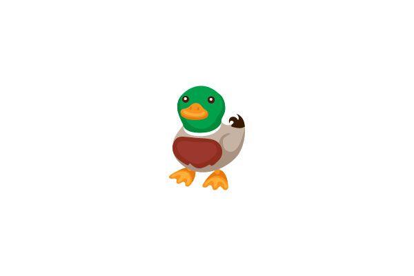 Duck Vector Graphics #farmvector #duckvector #vectorpack http://www.vectorvice.com/farm-vector