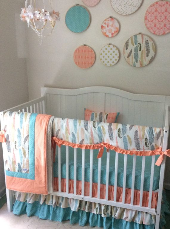 14 best Peach baby bedding ideas images on Pinterest ...