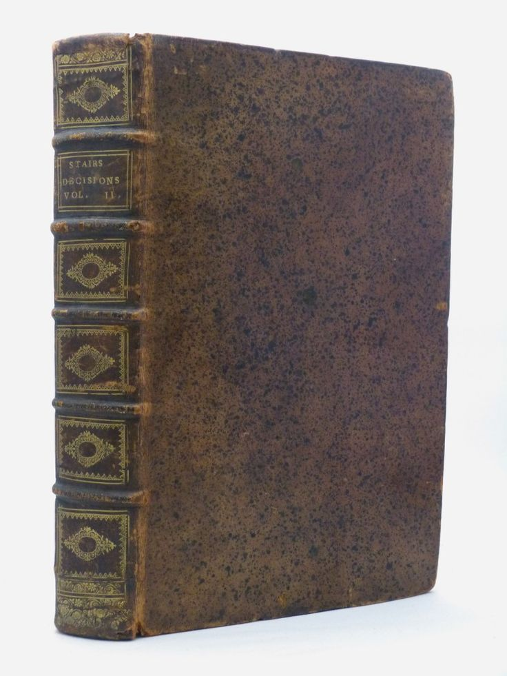The Decisions of the Lords of Council and Session - Scottish law from 1687 in a fine full leather binding