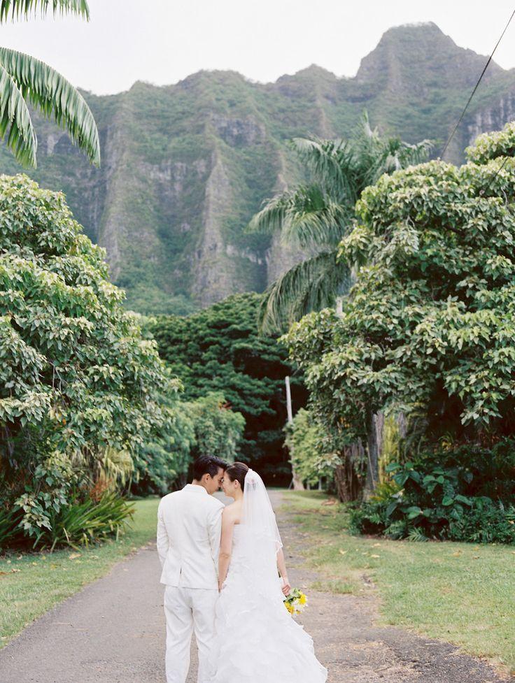 クアロア牧場の雄大な自然の中で♡ウェディング、ブライダル・フォトは一生の思い出。ハワイでの結婚式の写真の参考一覧を集めました♡
