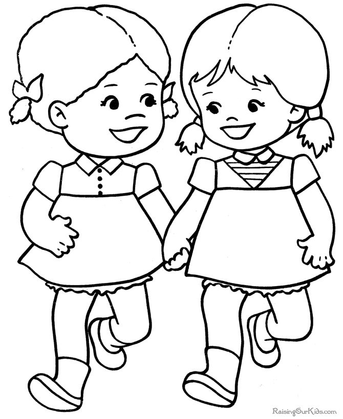 18 best images about coloring pages on pinterest - Coloring Pictures Of Children
