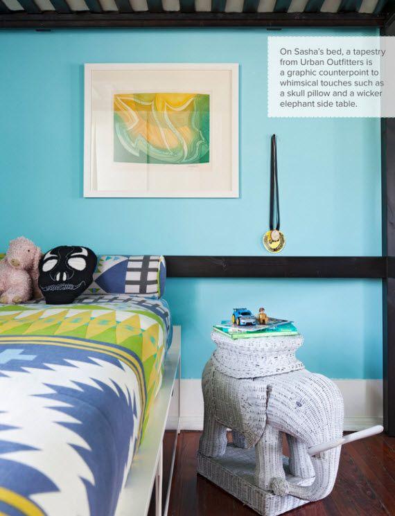 Teenage Bedroom Designs Blue