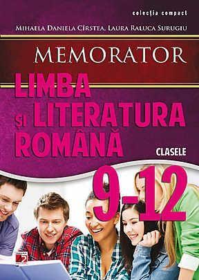 Memorator de Limba si literatura romana clasele 9-12 - 4.26 lei