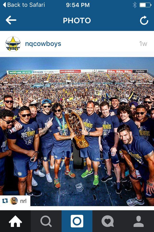 Cowboys 17 def Broncos 16 NRL Grand Final 2015
