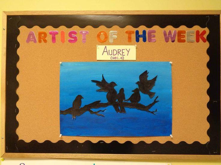 """Artist of the week #NSAL #NSALart #art"""