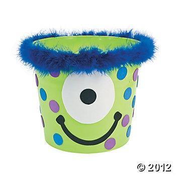Monster Bucket http://www.orientaltrading.com/monster-bucket-a2-PT1800-12-1.fltr?Ntt=monster