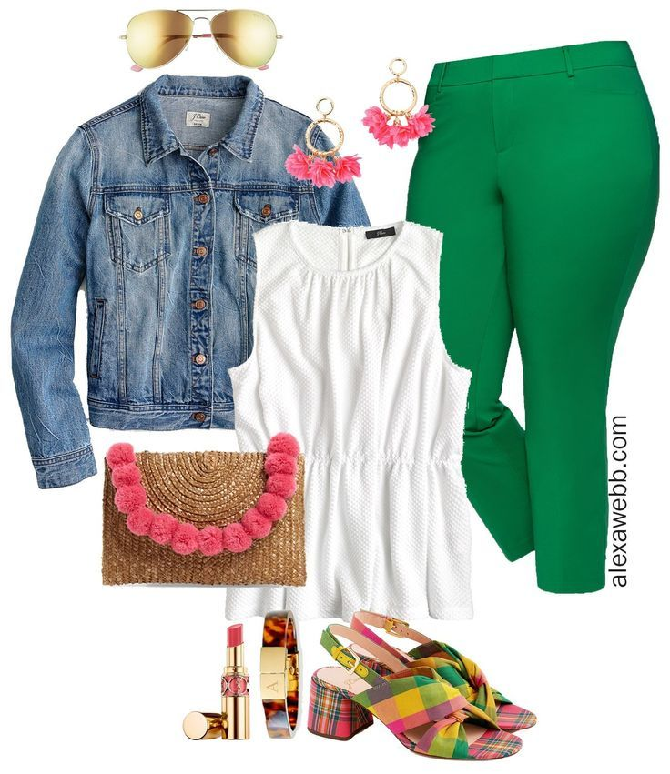 Plus Size Bright Green Pants – Part 1