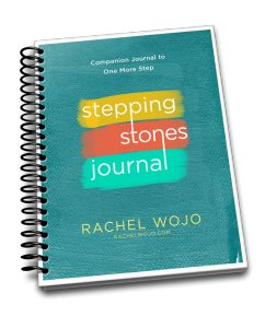 Need a little help getting started with prayer or Bible journaling? Enjoy this FREE printable journal to accompany the book, One More Step: Finding Strength When You Feel Like Giving Up.