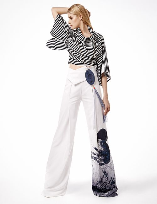 EBI Two-Way Shirt BEKKO Limited Edition pants Necklace MARIA MASTORI FOR 180DEGREES