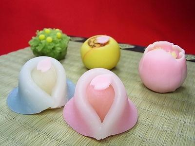 wagashi for Hina-matsuri (Japanese Girls' Day)
