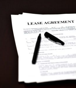 Entering into renewed lease after original lease expires