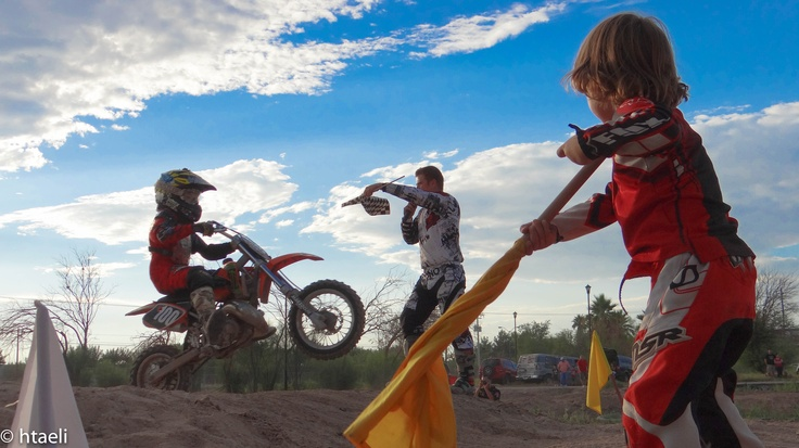 Motocross in Ciudad Juarez, Chihuahua Mexico.
