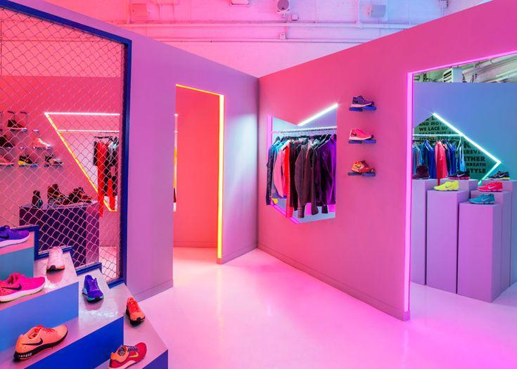 Nike pop-up shop in New York / by Robert Storey Studio