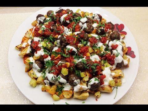 Yanardağ Kebabı Tarifi- Köfteli Nefis Yemek- Ev Lezzetleri - YouTube