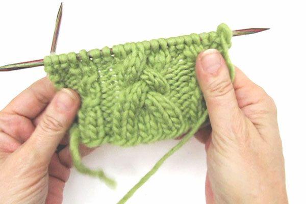 Zopfmuster * Minizöpfchen & Flechtzopf | Knitting/Stricken | Pinterest