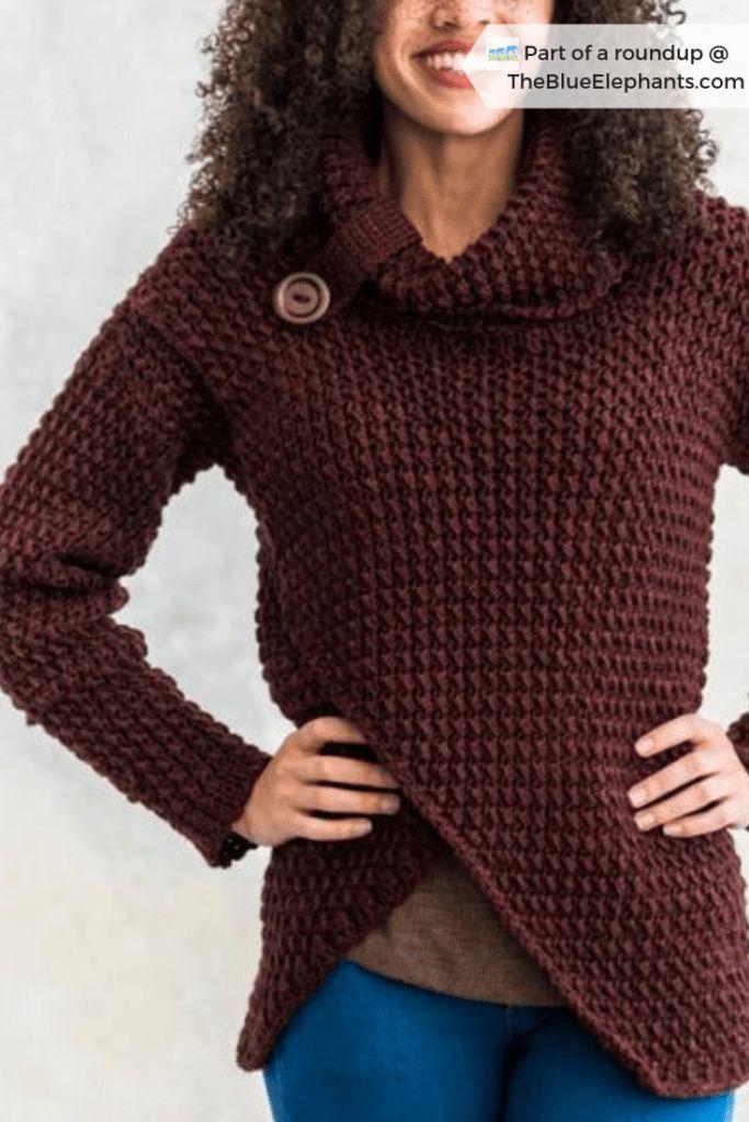 The Easiest Crochet Cardigan + 8 Crochet Kits For Beginners