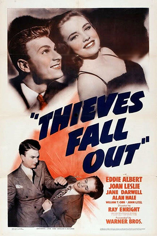 Eddie Albert, William T. Orr, and Joan Leslie in Thieves Fall Out (1941)