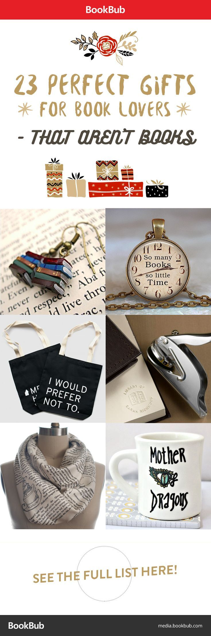 23 perfect gifts for book lovers u2014 that arenu0027t books