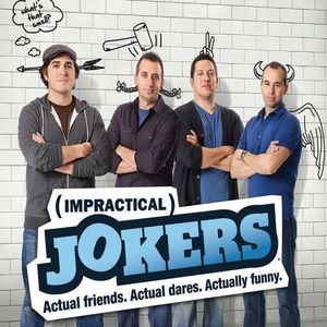 Impractical Jokers Season 1 DVD Debuts November 26th -- Relive all 17 episodes of this TruTV reality series about four lifelong friends who pull outrageous pranks on the unsuspecting public. -- http://wtch.it/IljEv