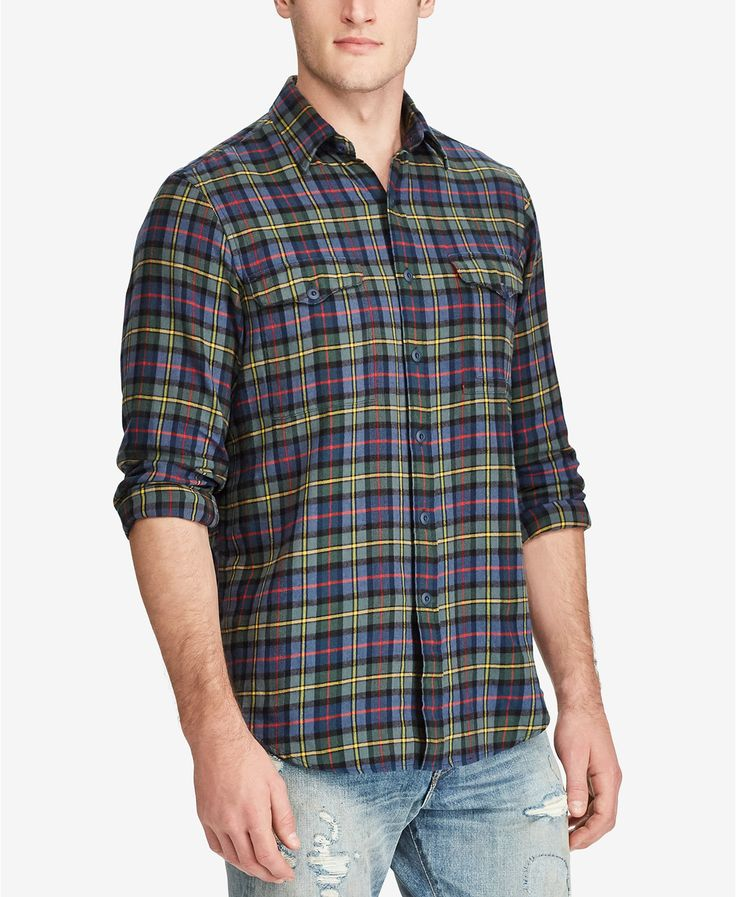 Polo Ralph Lauren Men's Standard-Fit Workshirt | macys.com