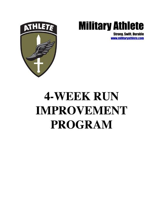 military athlete training program pdf