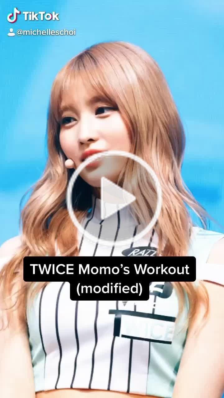 Michelle Choi Michelleschoi On Tiktok As Requested Keepingactive Twicemomo Abworkout Armworkout Kpop Korean Kpop Workout Girl Arm Workout Girl Abs