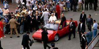 John Paul II visits #Ferrari - Google Search