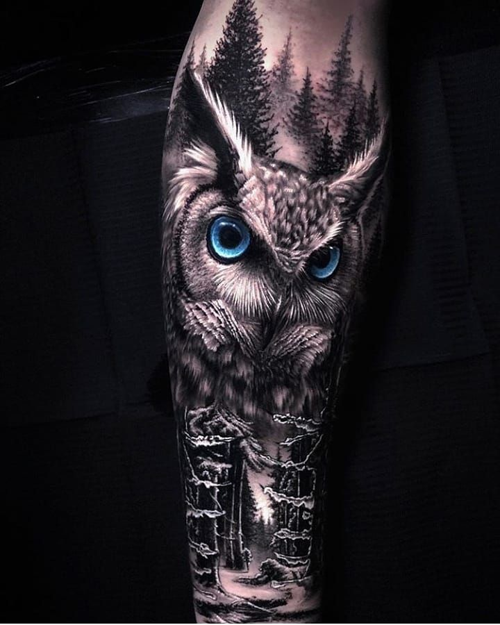 Only Best Tattoos On Instagram From 1 To 10 You Want A Tattoo But Can T Find A Design Order It In 2020 Owl Tattoo Design Realistic Owl Tattoo Mens Owl Tattoo