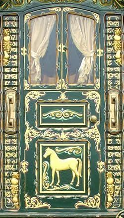 Gypsy Caravan Door