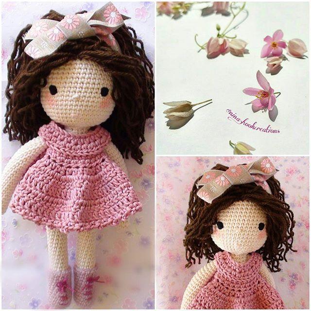 Have a wonderful day from sunny Greece! #crochet #crochetdoll #crochetart #crochetaddict #crochetlove #amigurumi #amigurumidoll #isabellekessedjian #mycrochetdoll #handmade #ganchillo #cute #pink