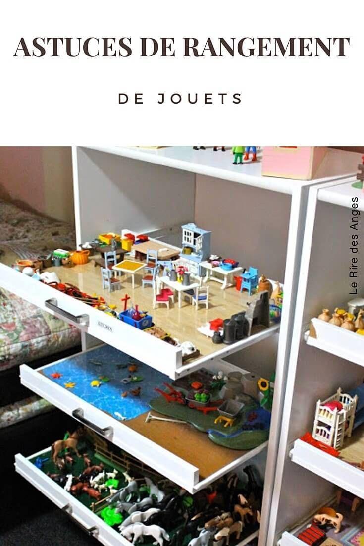 10 Astuces De Rangement De Jouet Le Rire Des Anges Rangement Jouet Rangement Chambre Enfant Rangement Jouet Enfant