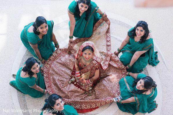 indian bridal party http://www.maharaniweddings.com/gallery/photo/73340