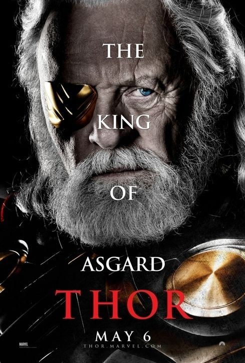 King Odin (Thor, 2011) Movie poster.