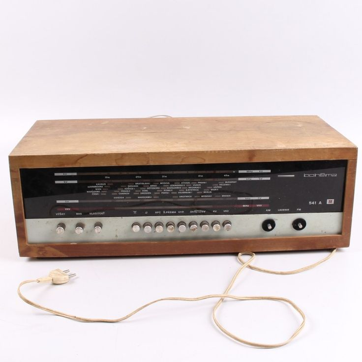 Radiopřijímač Tesla 541A Bohéma