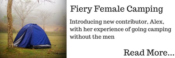 Fiery Female Camping: Article from Alex Christopher